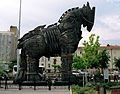Trojan horse in Canakkale Turkey in wikipedia.jpg