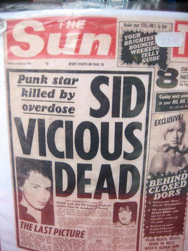 sid vicious the sun front page.jpg