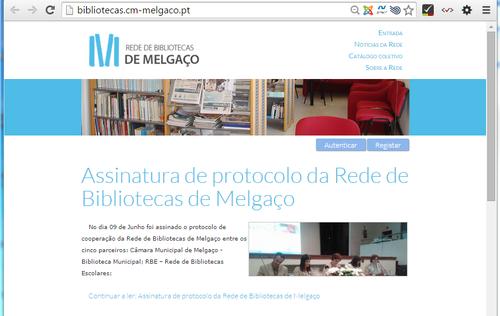 Visitar o sítio web...