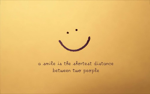 Nice_Smile_Quotes_Background_with_Yellow_Backgroun