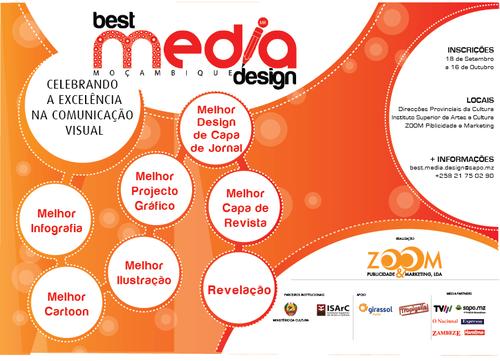 BEST MEDIA DESIGN ARRANCA NO DIA 18 DE SETEMBRO