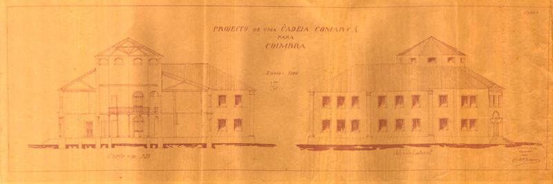 Fig. 46. Projeto do edifício da Cadeia Comarcã.