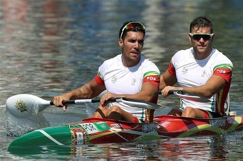 Emanuel Silva e João Ribeiro Canogem K2 1000m ab.