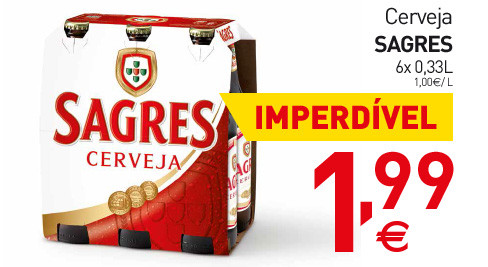 Apenas amanhã   INTERMARCHÉ   cerveja sagres