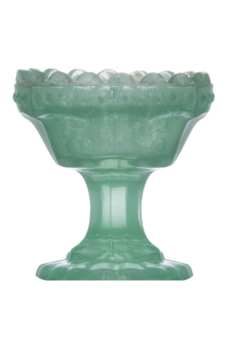 Kimball-7725104-Mini Chalice Votive Green, Grade Z
