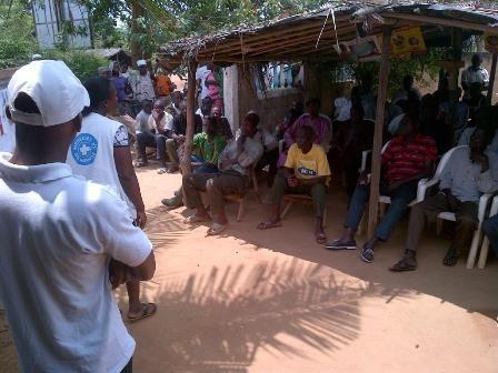 Sensibilisation des communautés sur Ebola,Soubré