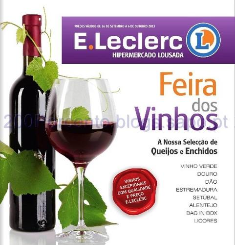 Folheto E-leclerc - Lousada - de 16 Setembro a 6 Outubro