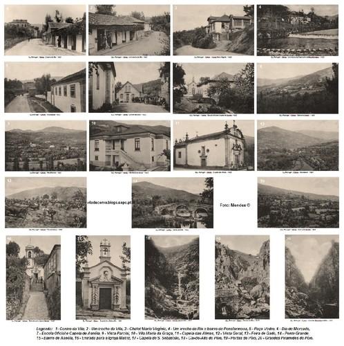 Cerva - 1935 - 20 Postais Antigos