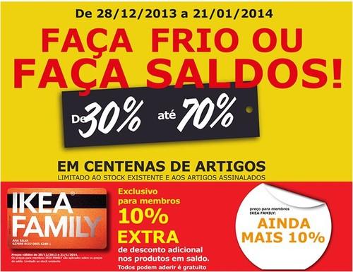 Saldos   IKEA   de 28 dezembro 2013 a 21 janeiro 2014