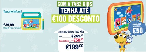 Campanha tablet | PHONEHOUSE | até 31 dezembro