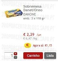Acumulação Super-Preço + 25%   CONTINENTE   Danone