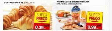 Brioches e Pães de Leite super preço