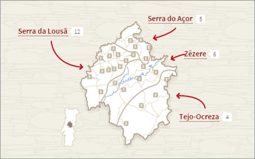 aldeias de xisto mapa Outono nas Aldeias do Xisto   Uma Mochila de Aventuras aldeias de xisto mapa