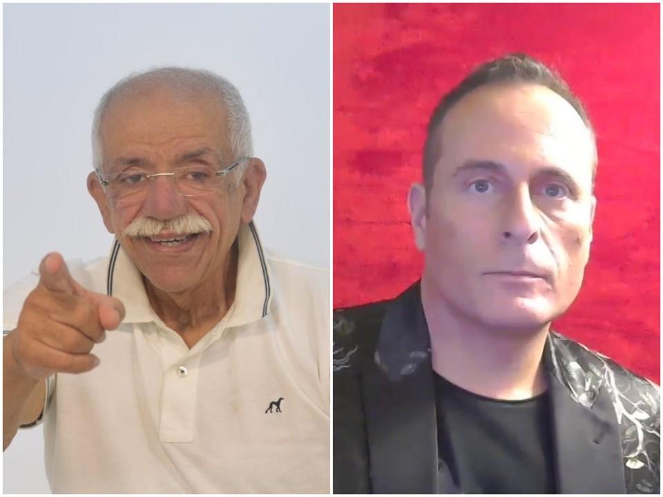 António Serzedelo e Hélder Bértolo