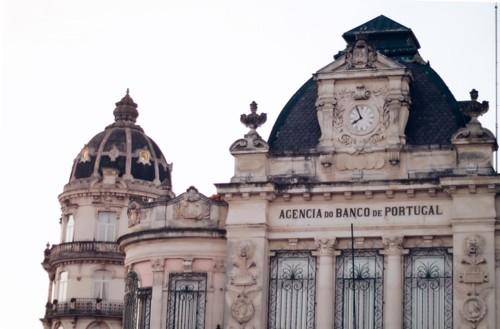 Fig. 7 - Agência do Banco de Portugal. Pseudoarqu