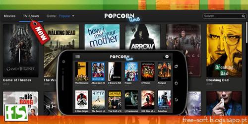 Popcorn Time - Torrents no Android para ver filmes e séries de TV