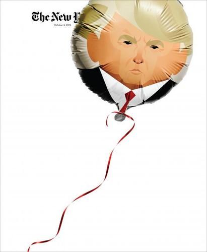 Donald Trump na capa do The New York Times Magazin
