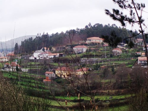 Padornelo Valinha visto desde sitio de Pontelhas e