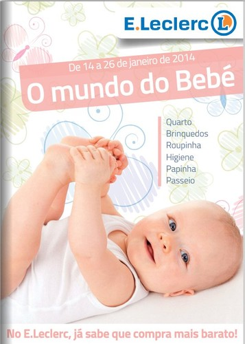 Novo folheto | E-LECLERC | Nacional de 14 a 26 janeiro - Bebé