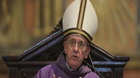 Franciso primeiro, papa argentino