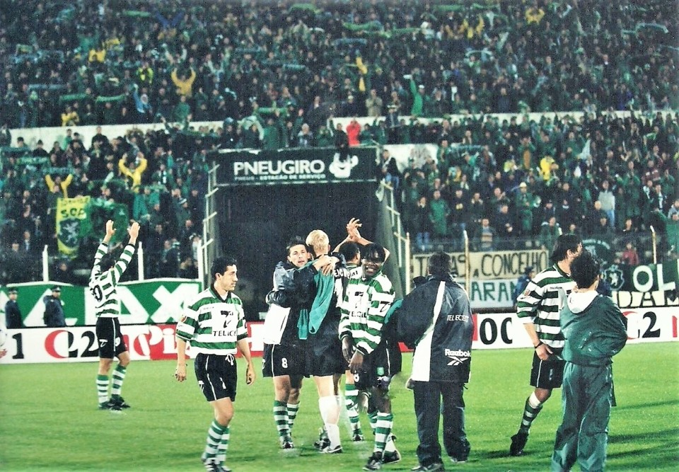 RA SCP 1999-00 1-2 31ª jornada 21-4-2000 final do