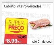 Super Preço | CONTINENTE | Cabrito até 24 dezembro