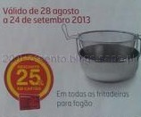 25% em Fritadeiras para Fogão