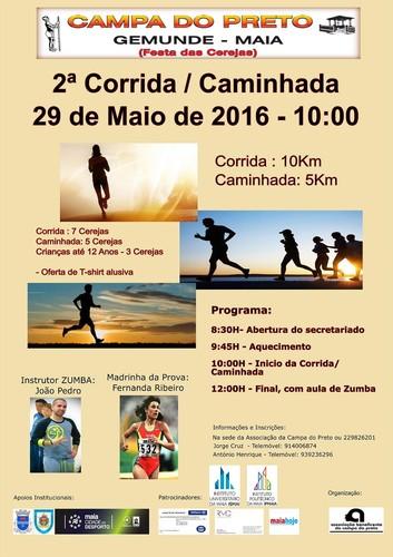 2ª Corrida Caminhada Campa do Preto Festa das Cer
