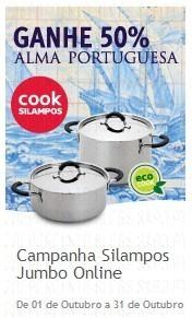 50% em Cook Silampos