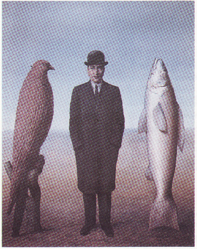 R. Magritte – A Presença do Espírito, 1960