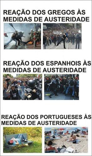 as reacções dos portugueses