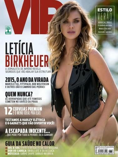 Letícia Birkheuer capa 2