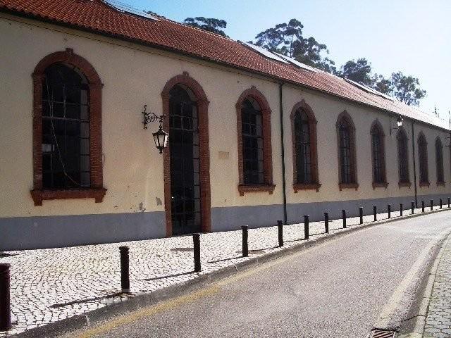 Edificio onde funcionou o Museu dos Transportes Ur