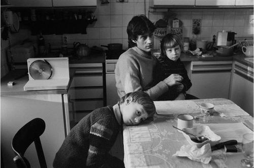 1982, Berlin Pankow, Familie Glatzeder kurz vor de