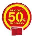 50% Desconto continente