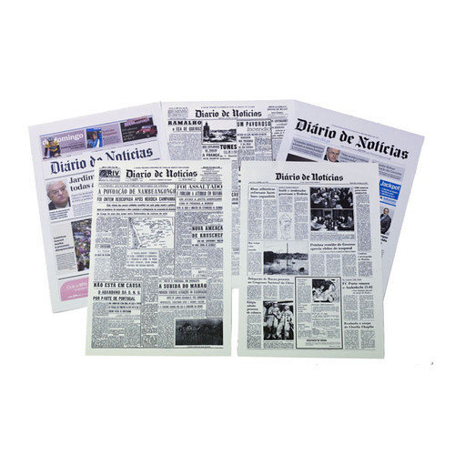 Loja DN - Primeira página