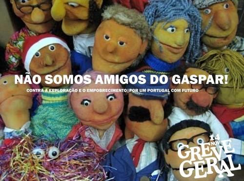 Não somos amigos do Gaspar