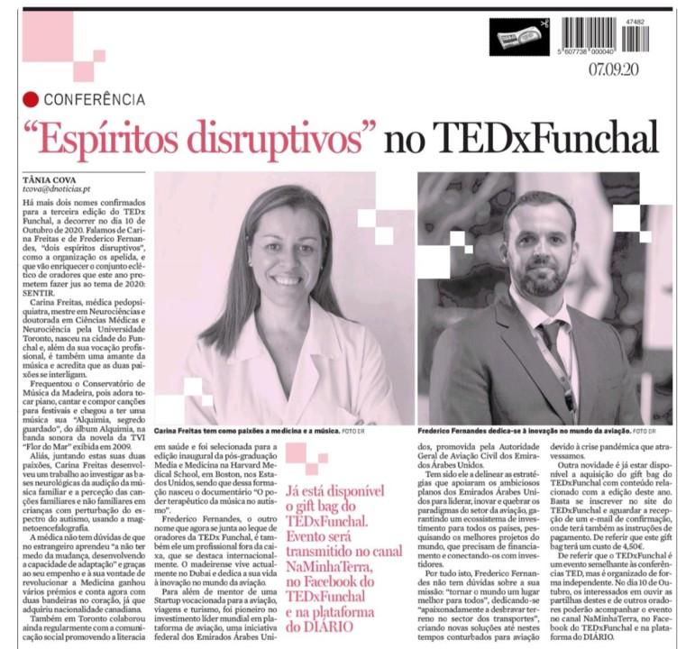 7 d esetembro 2020 - DN - sobre TEDX Funchal.jpg