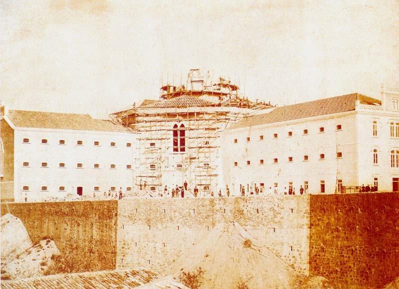 Fig. 43. Penitenciária em construção [Revelar C