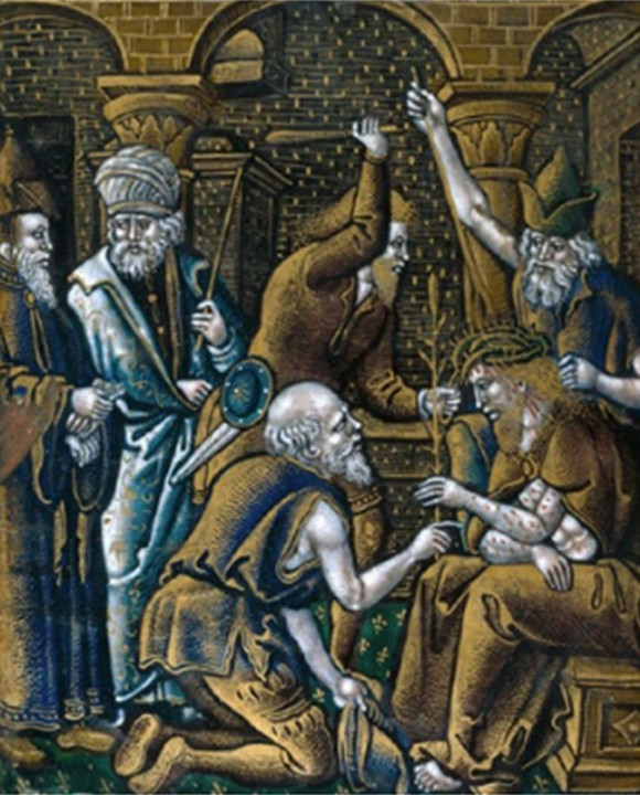 Mestre da Paixão de Cristo; esmalte pintado sobre