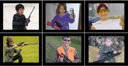 Crianças com armas