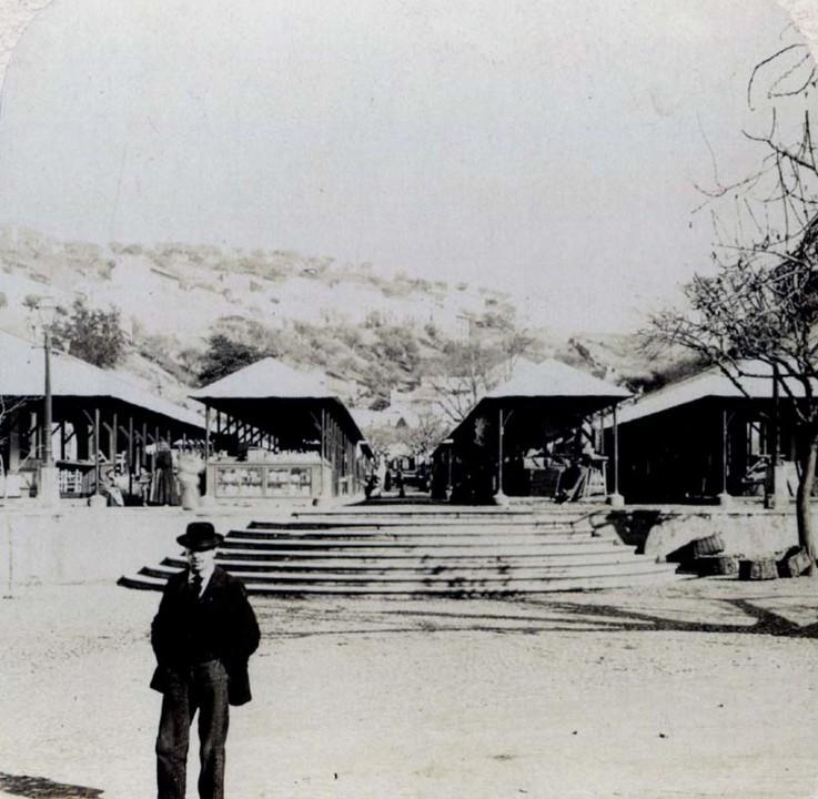 Fig. 08. Mercado D. Pedro V em 1907. [Passado ao E