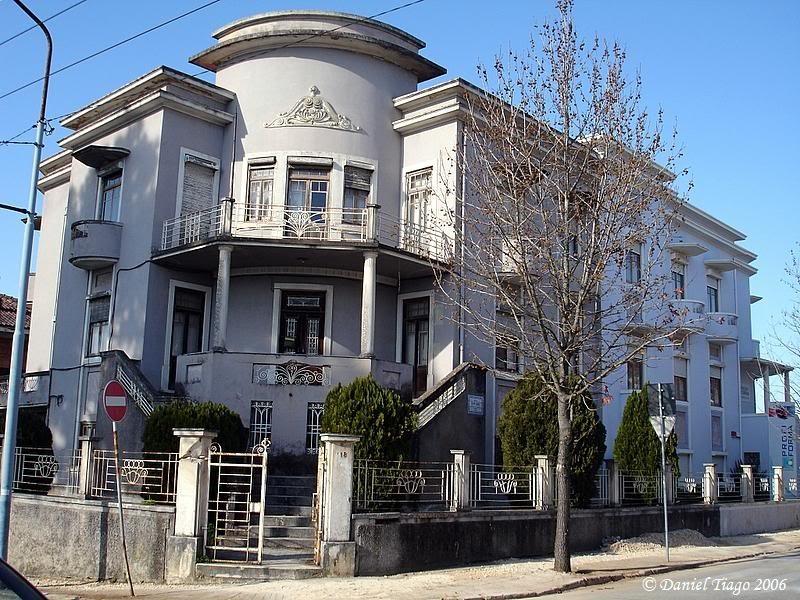 Casa na Avenida Marnoco e Sousa. Projeto do Arquit