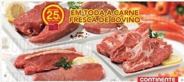 Acumulação 50% desconto em toda a carne fresca de bovino