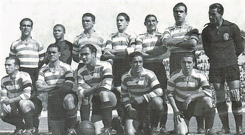 Sporting 4 Atlético 2 1945-46 final Taça de Port