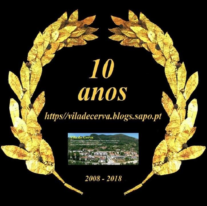 Vila de Cerva - 10 Anos de Blog.