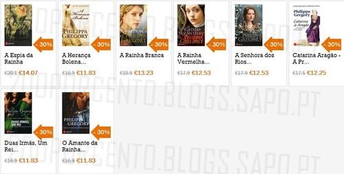 Acumulação até 50% de desconto Book.it, de 7 a 31 Outubro