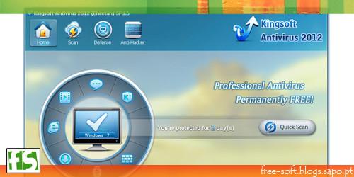 Antivirus professional and free - Kingsoft Antivirus