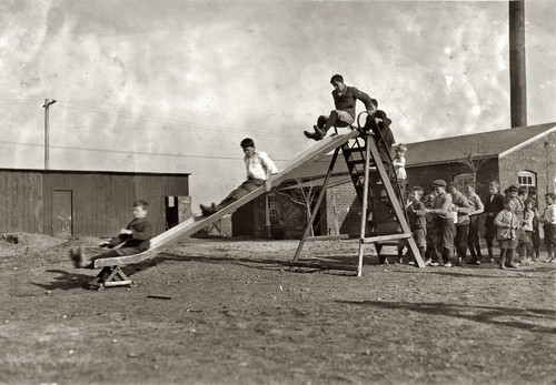 March 1917. Muskogee, Oklahoma. Play-time at the O
