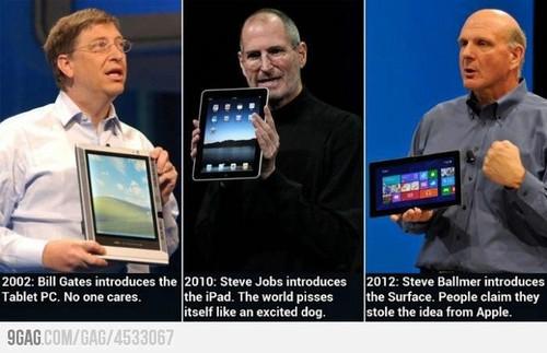 Quem realmente inventou os tablets?